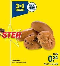 Sandwiches-Huismerk - Makro