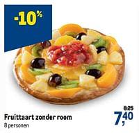 Fruittaart zonder room-Huismerk - Makro
