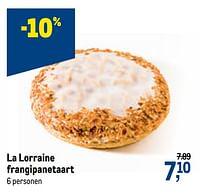 La lorraine frangipanetaart-La Lorraine