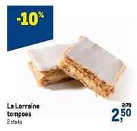 La lorraine tompoes-La Lorraine