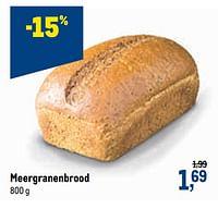 Meergranenbrood-Huismerk - Makro