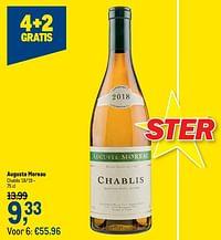 Auguste moreau chablis `18-`19-Rosé wijnen