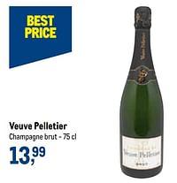 Veuve pelletier champagne brut-Champagne