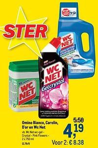 Wc net wc-gel - crystal - pink flowers-Huismerk - Makro