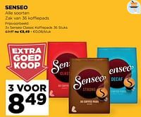Senseo classic koffiepads-Douwe Egberts