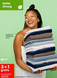 Hotelkwaliteit handdoeken-Huismerk - Hema