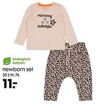 Newborn set-Huismerk - Hema