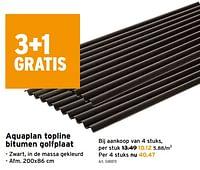 Aquaplan topline bitumen golfplaat-Aquaplan