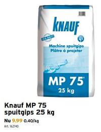 Knauf mp 75 spuitgips-Knauf