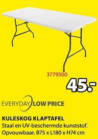 Kuleskog klaptafel-Huismerk - Jysk