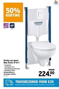 Grohe wc-pack bau even 5-in-1-Grohe