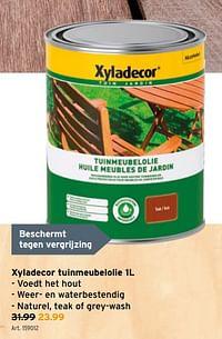Xyladecor tuinmeubelolie-Xyladecor