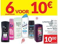 Axe le petit marseillais sunlight tahiti of behalve douche kids douchegel of axe fa of rexona deodorant-Huismerk - Intermarche