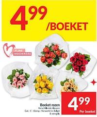 Boeket rozen-Huismerk - Intermarche