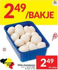 Witte champignons-Huismerk - Intermarche