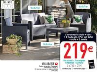Salon de jardin - tuinsalon orlando lounge-Allibert