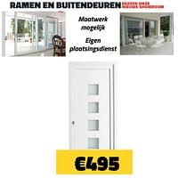 Ramen en buitendeuren-Huismerk - Bouwcenter Frans Vlaeminck
