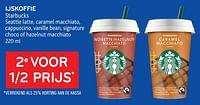 Ijskoffie starbucks 2e voor 1-2 prijs-Starbucks