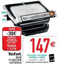 Tefal grill yy3872fb-Tefal