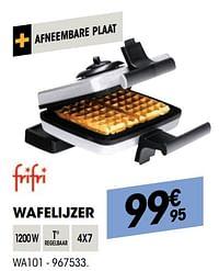 Frifri wafelijzer wa101-FriFri