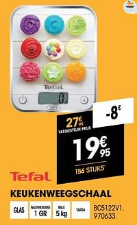 Tefal keukenweegschaal bc5122v1-Tefal