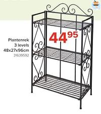Plantenrek 3 levels-Huismerk - Euroshop