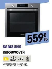 Samsung inbouwoven nv75m5572rs-Samsung