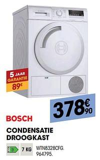 Bosch condensatie droogkast wtn8328cfg-Bosch