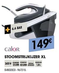 Calor stoomstrijkijzer xl sv8020c0-Calor