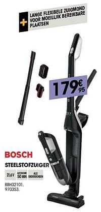 Bosch steelstofzuiger bbh32101-Bosch