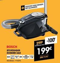 Bosch stofzuiger zonder zak bgs5ksils-Bosch