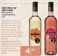 Very pêch` of very pamp`-Rosé wijnen