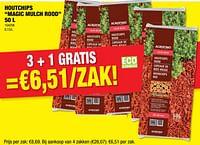 Houtchips magic mulch rood-Agrofino