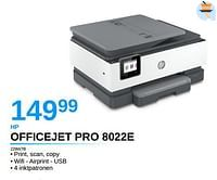 Hp officejet pro 8022e 229w7b-HP