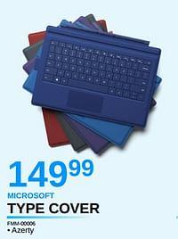 Microsoft type cover-Microsoft