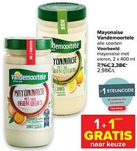 Mayonaise met eieren-Vandemoortele
