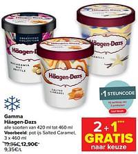 Pot ijs salted caramel-Haagen-Dazs