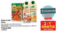 Tomatensoep 100% natuurlijk-Knorr