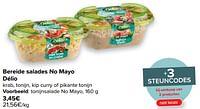 Tonijnsalade no mayo-Delio