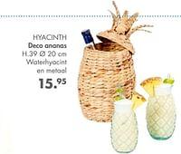 Hyacinth deco ananas-Huismerk - Casa