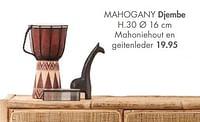 Mahogany djembe-Huismerk - Casa