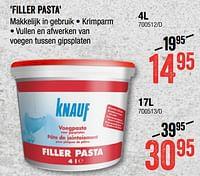Filler pasta-Knauf