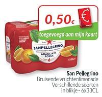 San pellegrino bruisende vruchtenlimonade-Sanpellegrino
