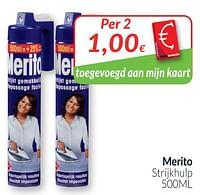 Merito strijkhulp-Merito