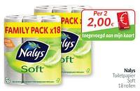Nalys toiletpapier soft-Nalys