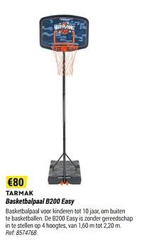 Basketbalpaal b200 easy-Tarmak