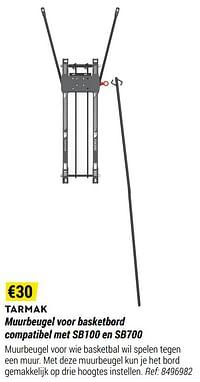 Muurbeugel voor basketbord compatibel met sb100 en sb700-Tarmak