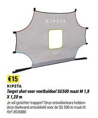 Target shot voor voetbaldoel sg500-Kipsta