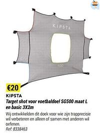 Target shot voor voetbaldoel sg500 en basic-Kipsta
