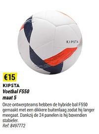 Voetbal f550-Kipsta